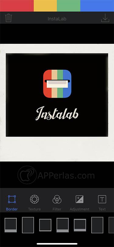 crear polaroid app ios instalab 2