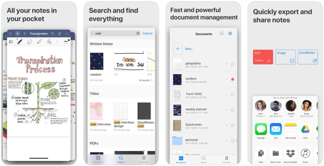Gran app de notas para iPhone y iPad