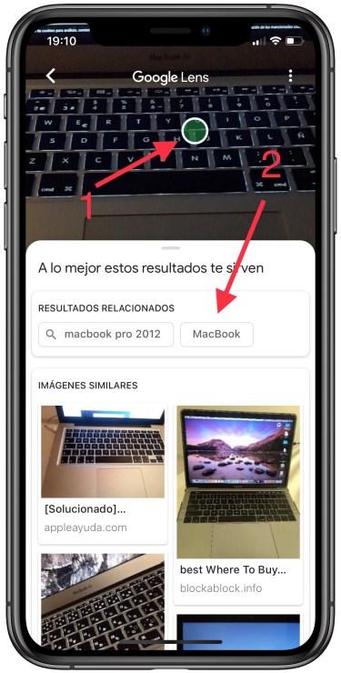 Google Lens en el iPhone 2
