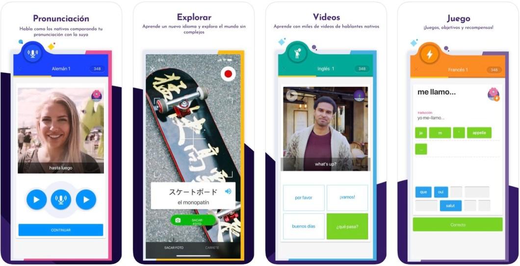 Muy buena app para aprender inglés