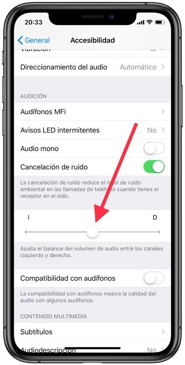 el altavoz del iPhone 1