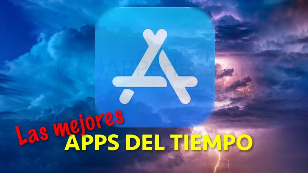 Aplicaciones del tiempo para iOS