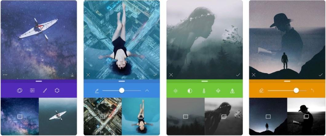 App para fusionar fotos