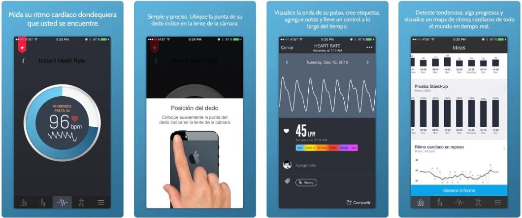 App de ritmo cardíaco