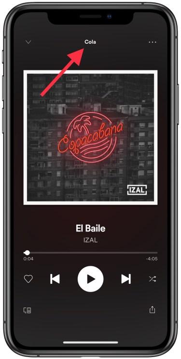 cola en Spotify 1