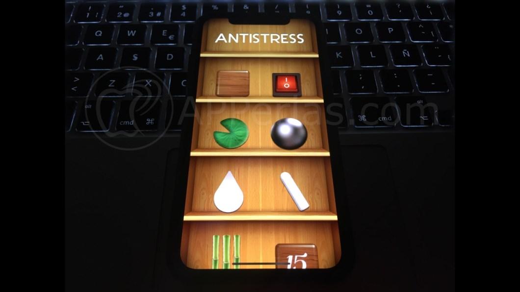 App antiestrés para iPhone