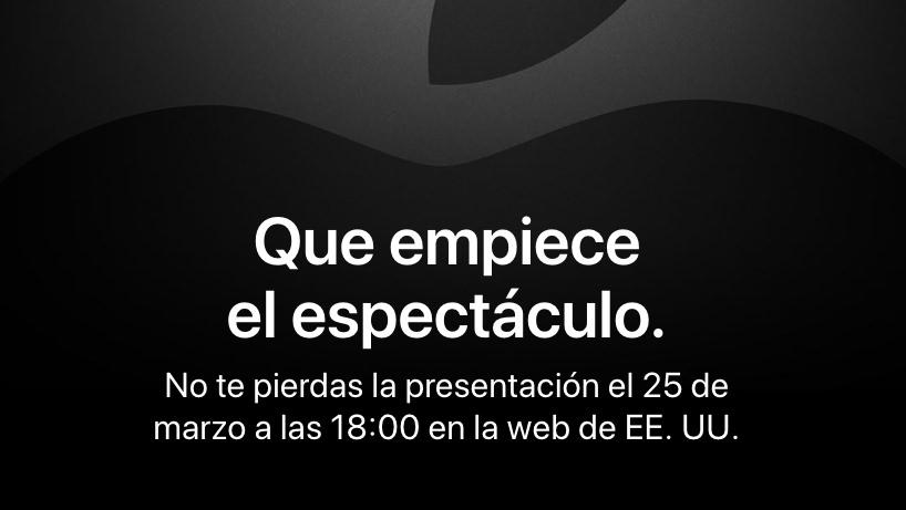 Cartel de la Keynote en castellano