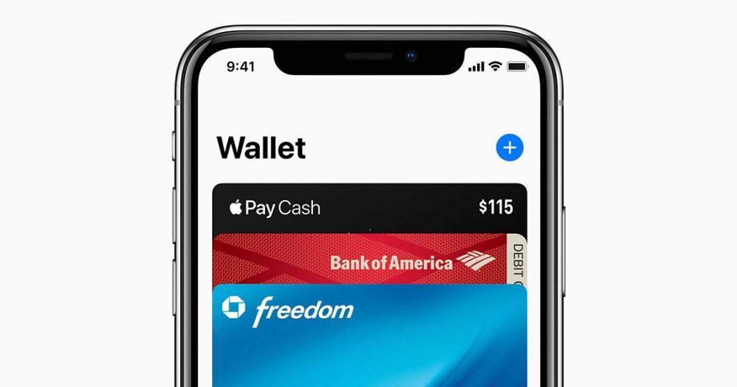 eliminar las tarjetas de Wallet
