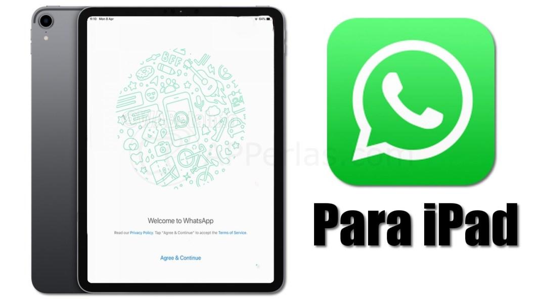 Llega Whatsapp para iPad