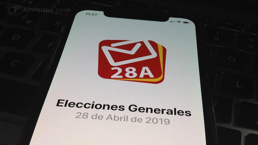 app para seguir las elecciones generales españa 2019 28A 1
