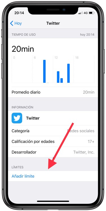 bloquear una app en iPhone 2
