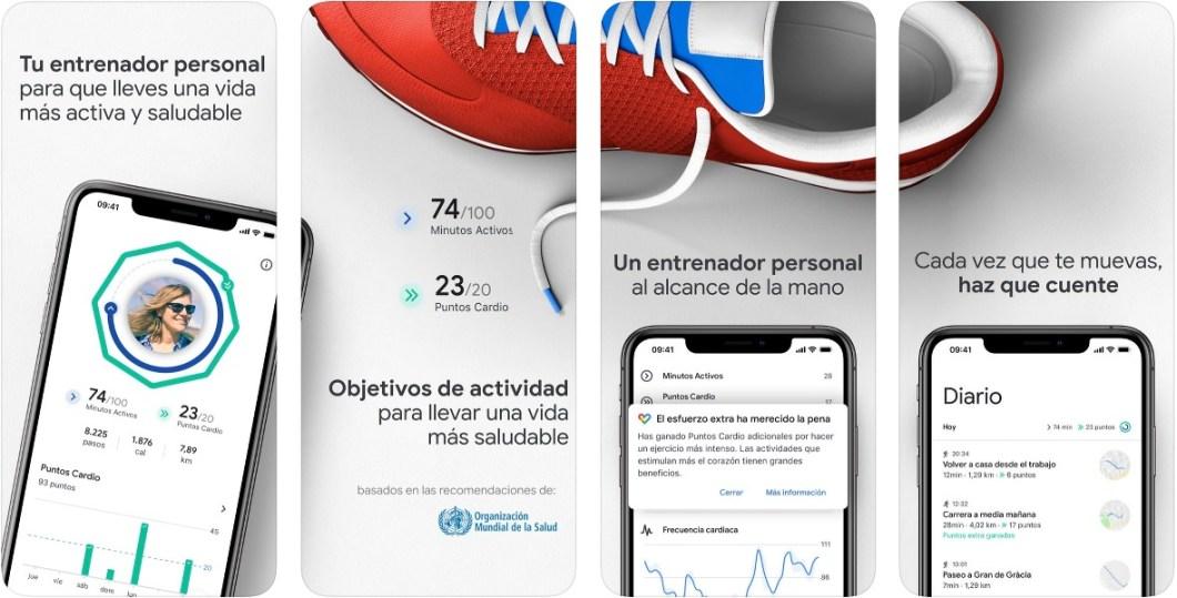 Google Fit, la nueva app de Google