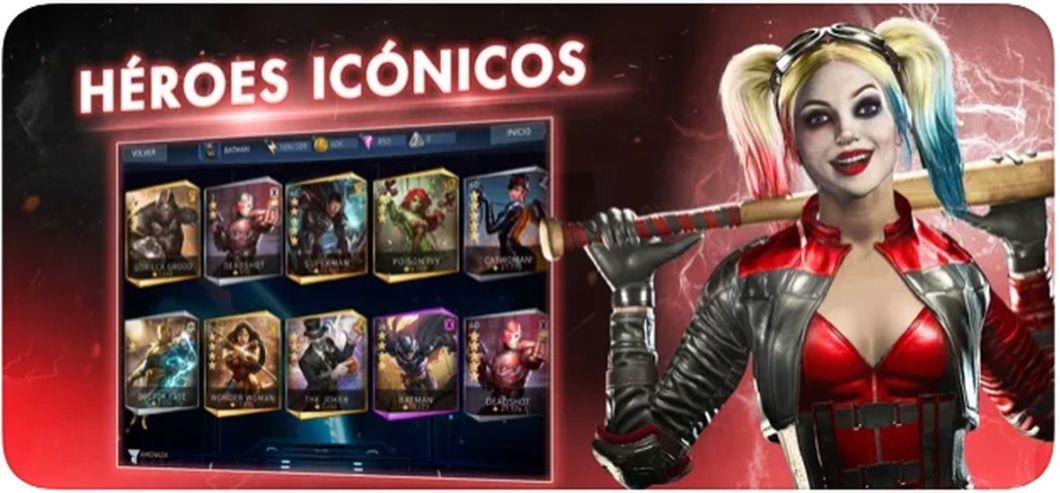 Juego Injustice 2 para iOS