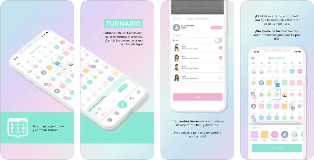 App de turnos para iPhone