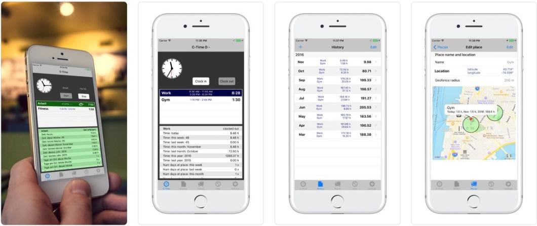 C-Time app para monitorizar tiempos