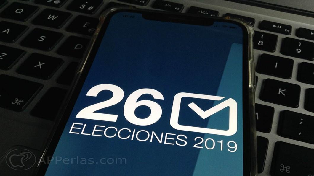 app para seguir elecciones Locales y Europeas españa 26m 26 de mayo 2