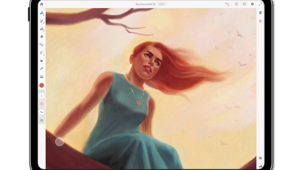 Adobe Fresco para iPad