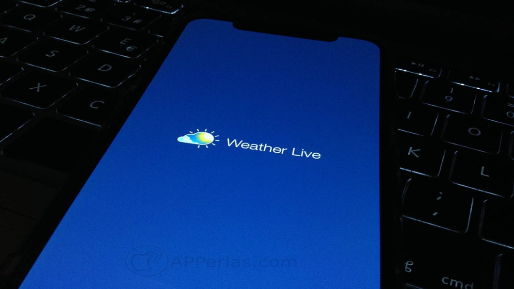 app de meteorología Weather Live 1
