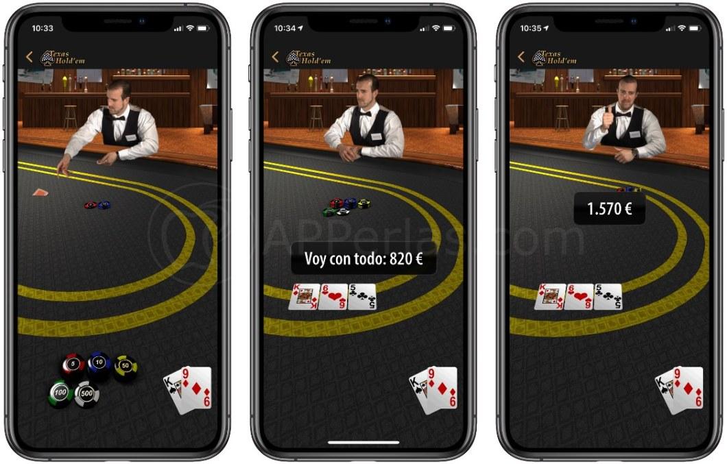 Juego de póker de Apple