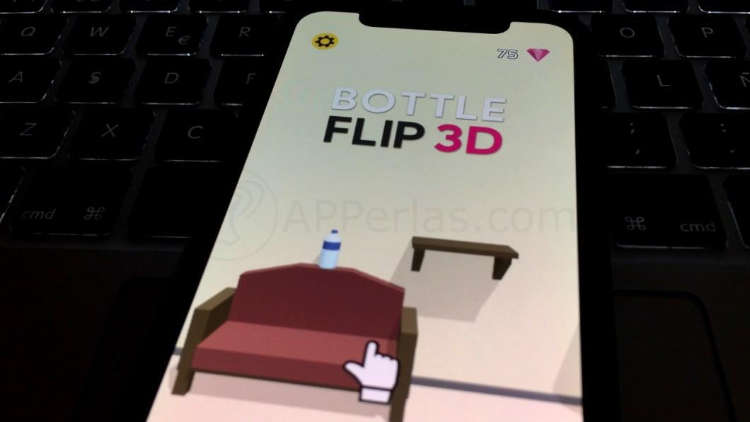 Bottle Flip 3D!, el juego de la botella