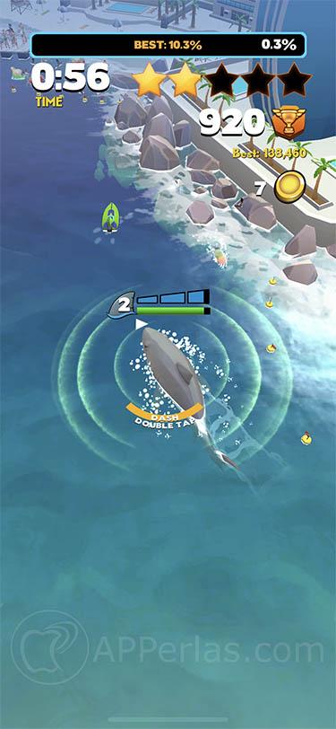 Jaws.io juego tiburon iphone ipad 2
