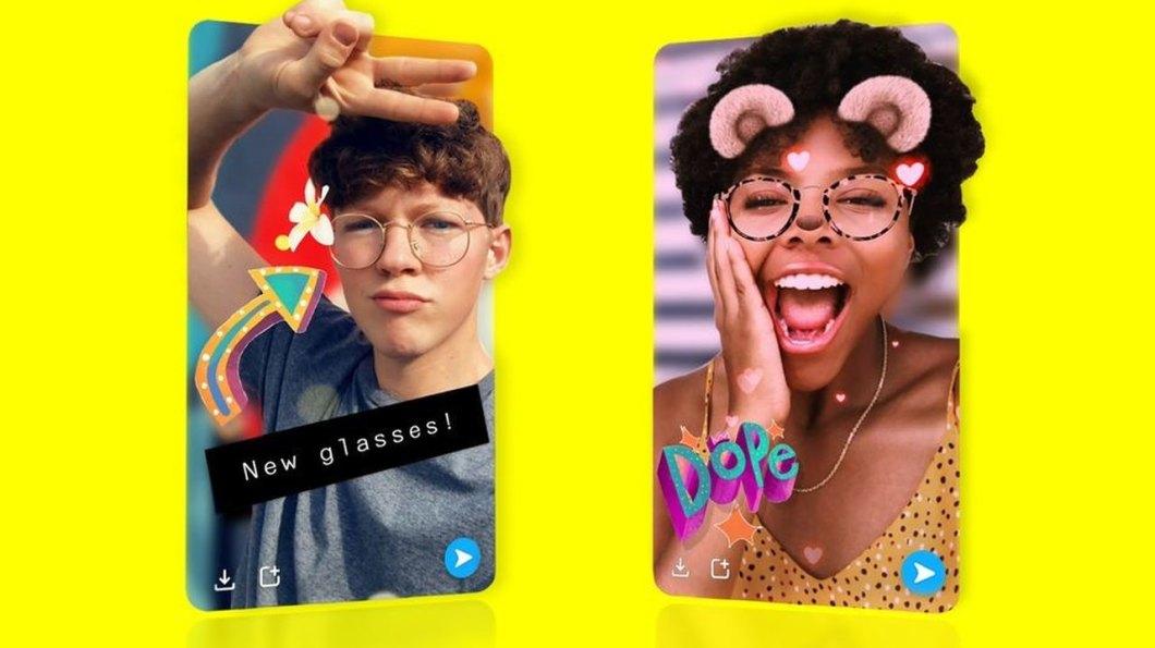 Selfies 3D en Snapchat