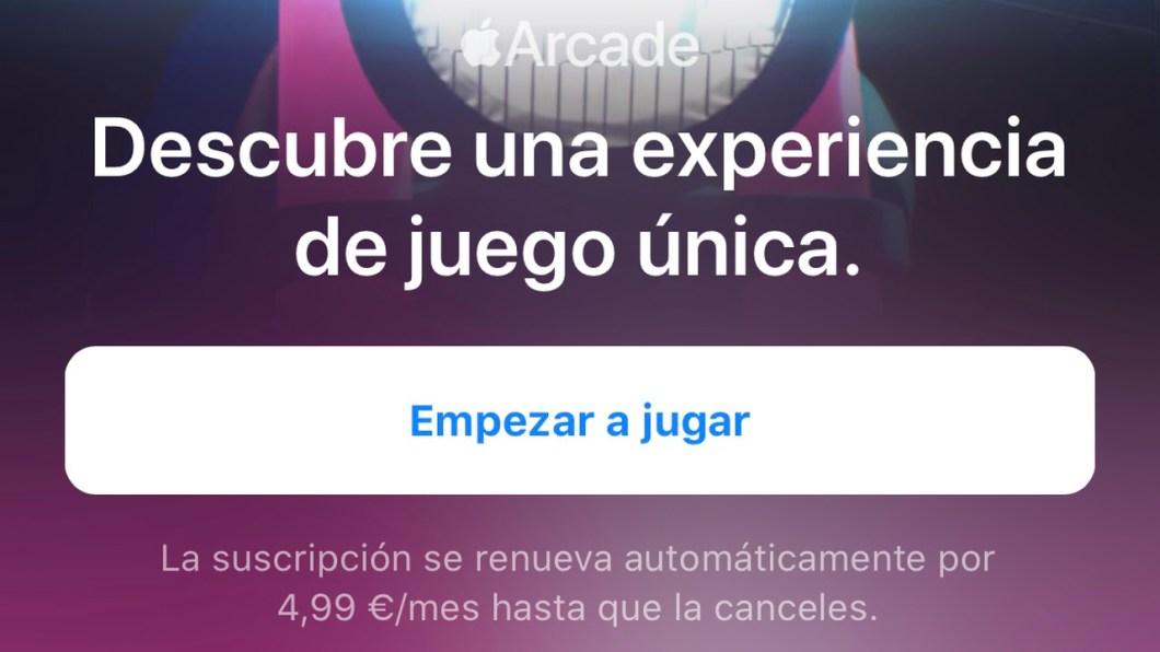 Período gratis de Apple Arcade