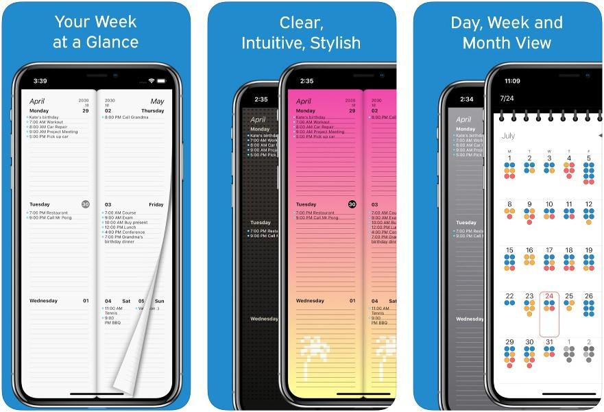 Calendario Semanal App