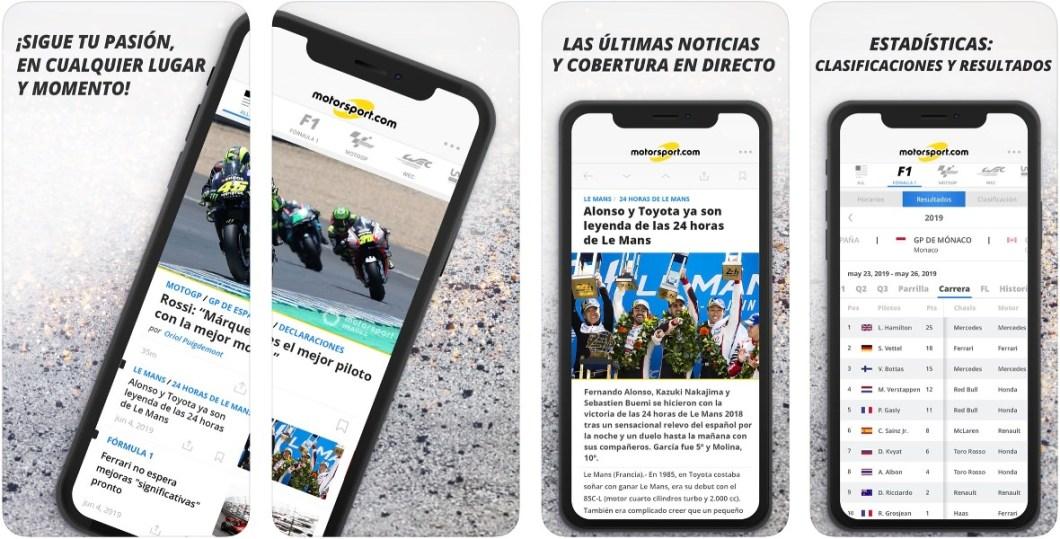 App oficial de MotorSport