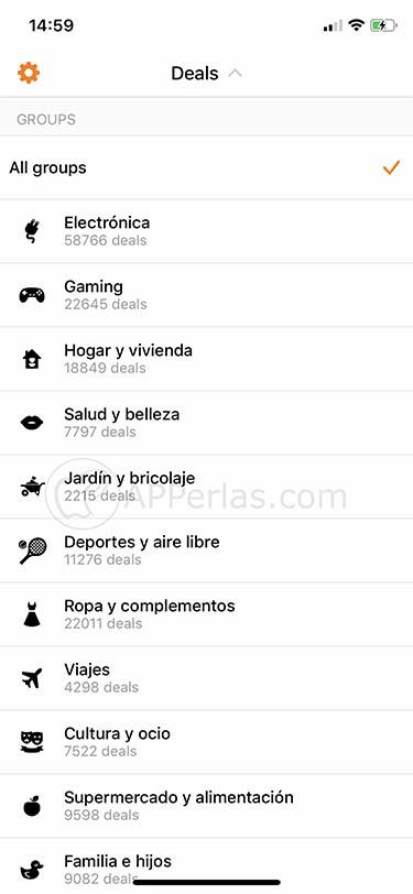 app para encontrar ofertas chollos chollometro ios iphone ipad 2