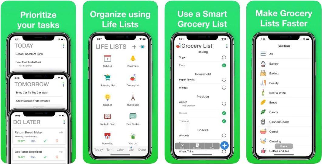 App para hacer todo tipo de listas