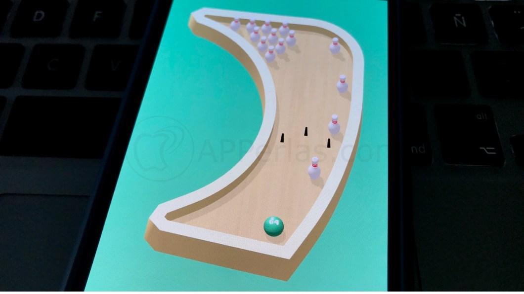 Divertido juego de bolos para iPhone