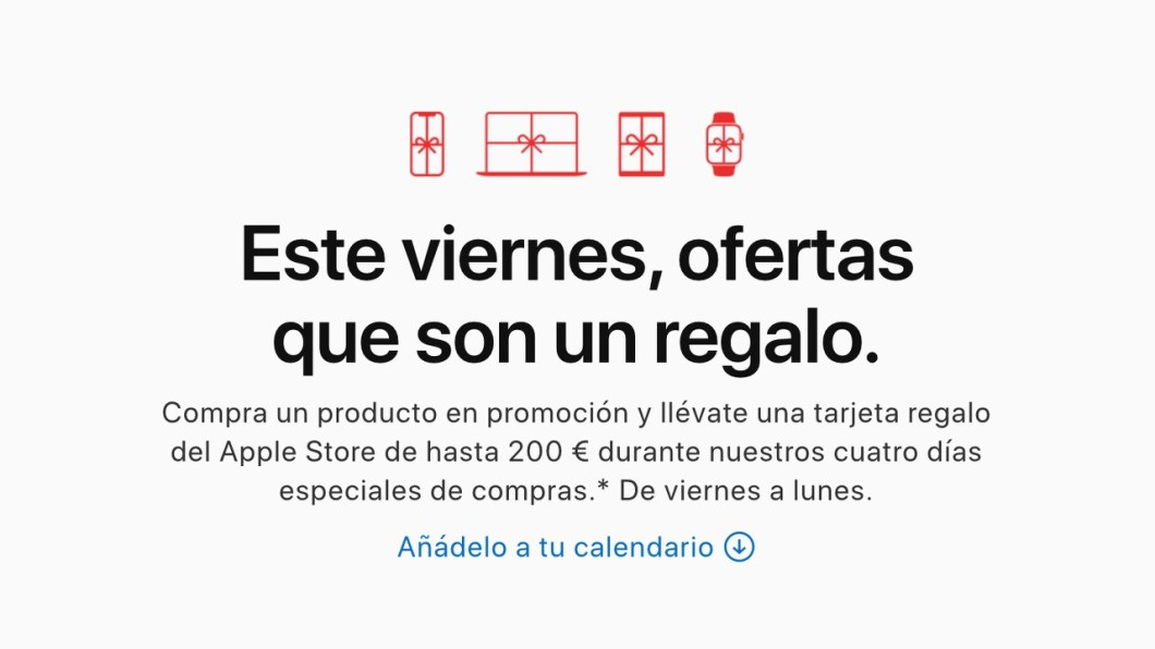 Black Friday en Apple 2019