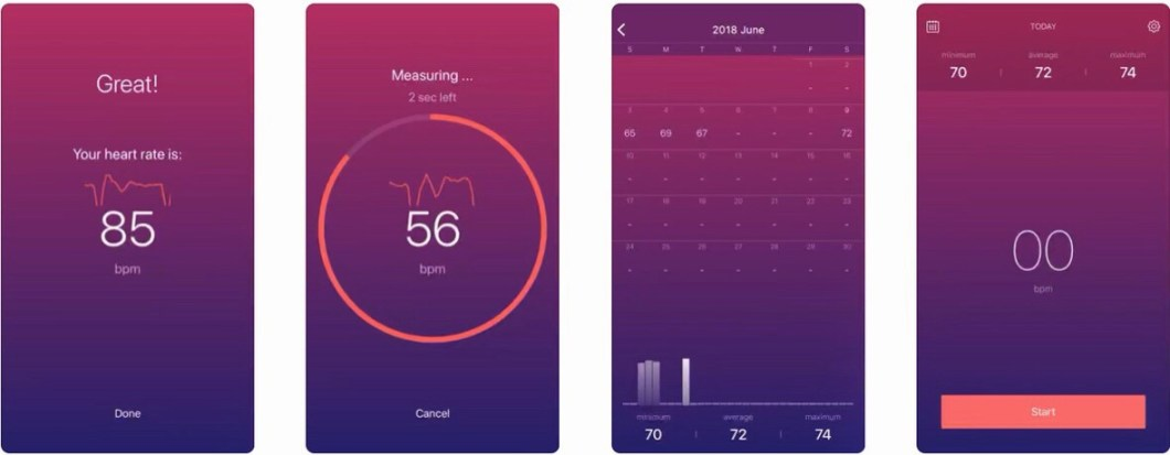 Monitor de pulso cardíaco