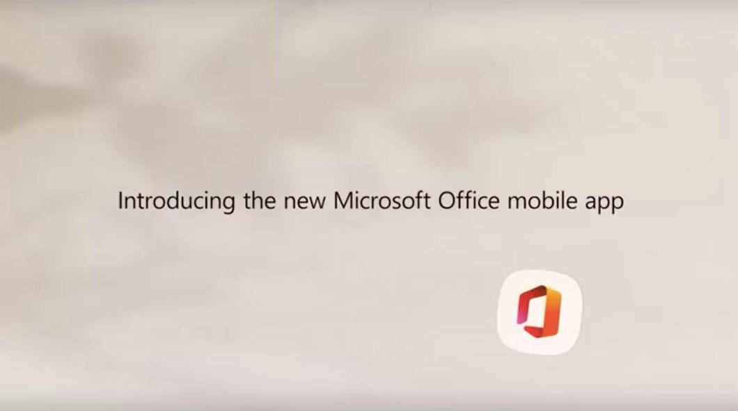 Todas las apps de Microsoft Office se unirán en una sola app 1