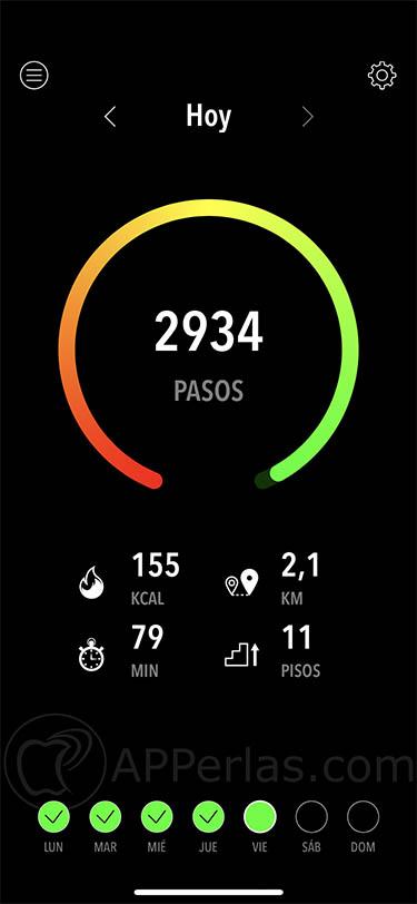 app de actividad estadisticas ejercicio deporte activitytracker activity tracker 1