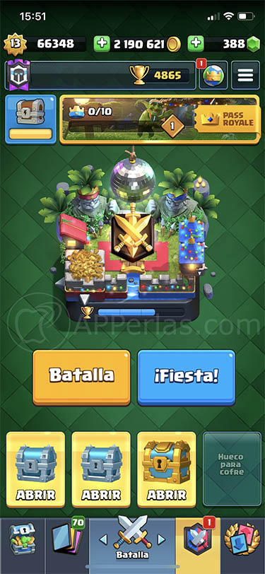 quinta temporada de clash royale 38