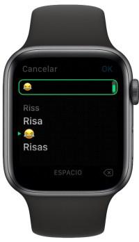 escribir más rápido con el Apple Watch 3