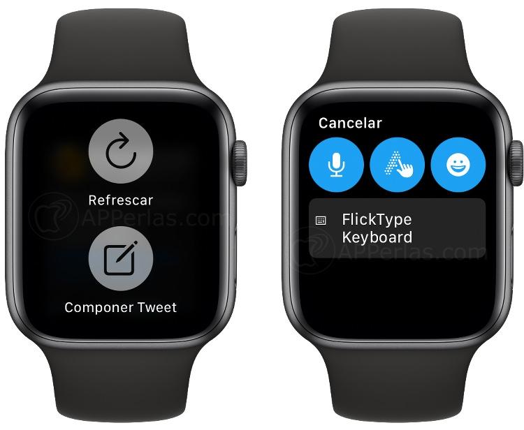 Escribe y manda Tweets desde el Apple Watch