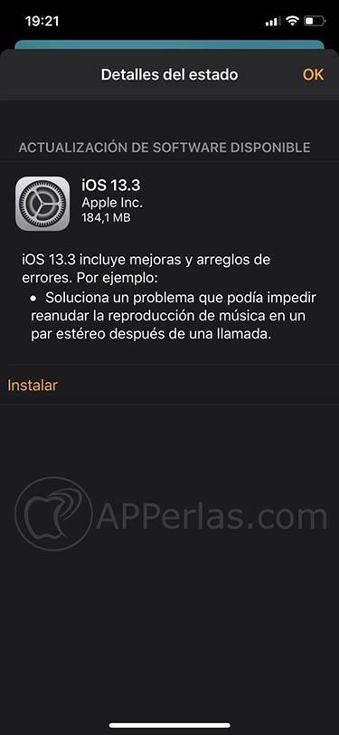 ios 13.3 en homepod actualización altavoz siri apple 2