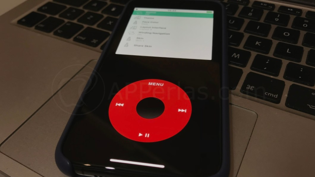 Convierte tu iPhone en un iPod de los de antaño