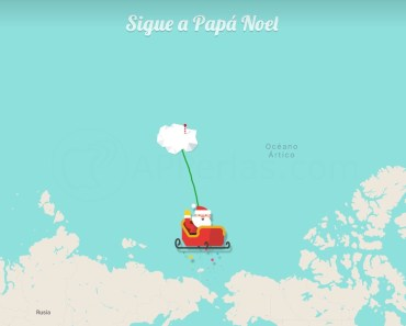 Si quieres saber por dónde va Papá Noel 2020, te decimos cómo
