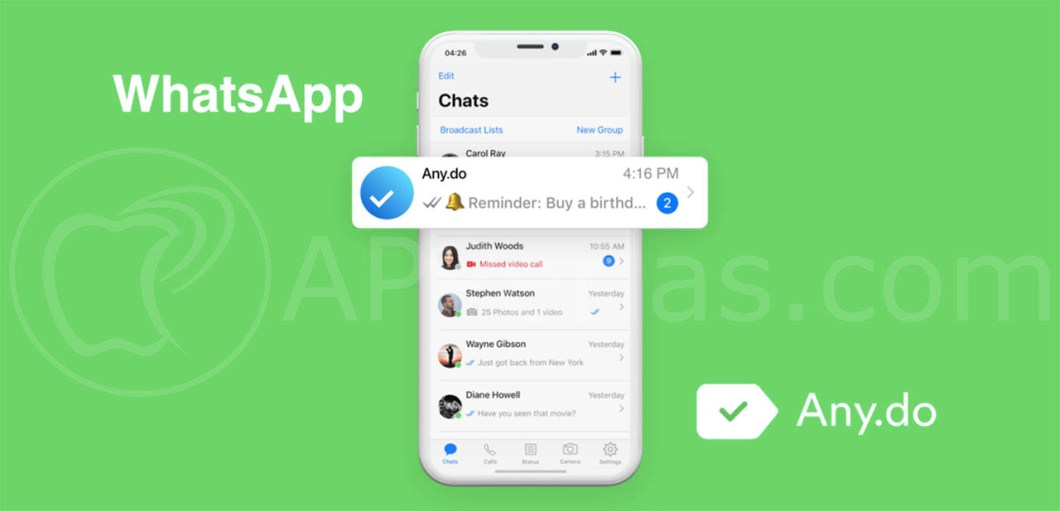 whatsapp any.do crear recordatorios en whatsapp 1 copia