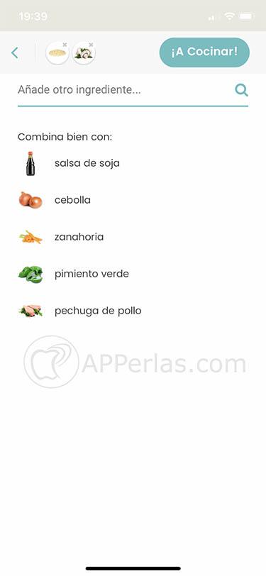 app de recetas sanas nooddle ios 2