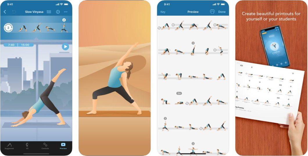 App de Yoga para iOS