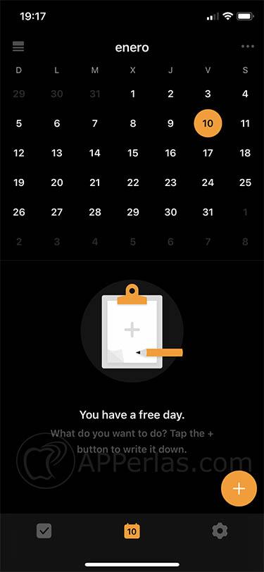 gestor de tareas para iOS ticktick 2 copia