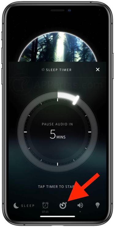 Temporizador de la app