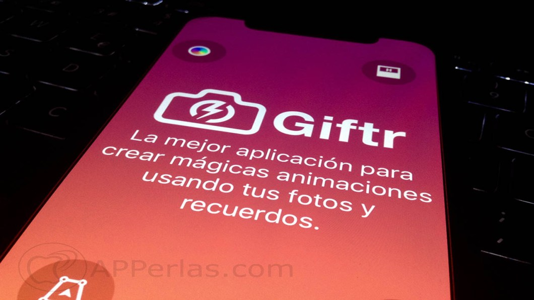 app crear GIFs con fotos giftr iphone ipad 2