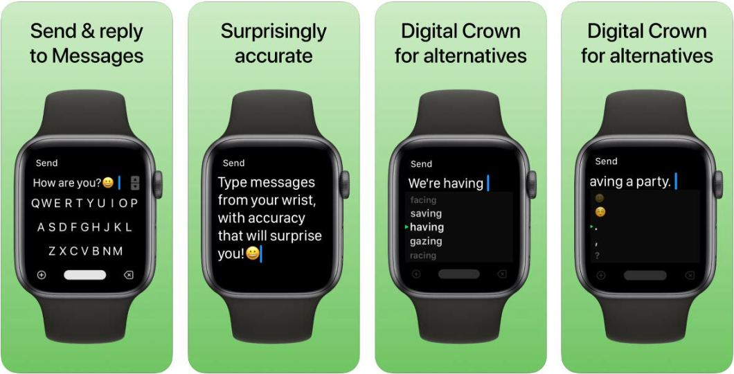 Teclado para Apple Watch