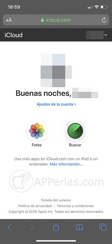 iCloud ya es completamente accesible desde navegadores móviles 1